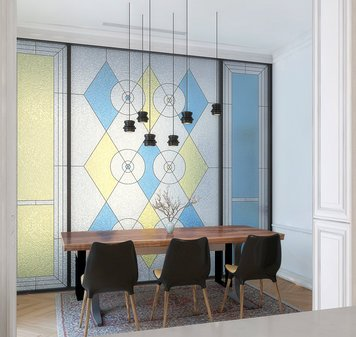 Online design Eclectic Dining Room by Rajna S. thumbnail