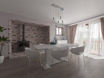 Online design Modern Dining Room by Kira L. thumbnail