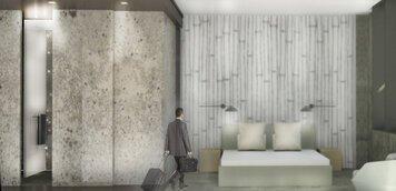 Online design Modern Bedroom by Jordan M. thumbnail