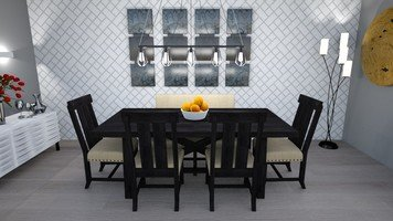 Online design Transitional Dining Room by Jas D. thumbnail