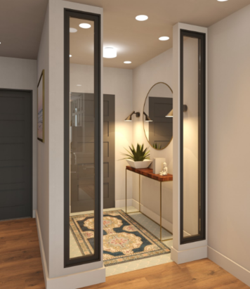Online design Contemporary Hallway/Entry by Kelsie T. thumbnail