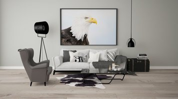 Online design Contemporary Living Room by Dominika Z. thumbnail