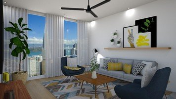 Online design Modern Living Room by Jas D. thumbnail