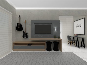 Online design Modern Living Room by Luciana N. thumbnail