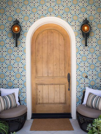Online design Contemporary Hallway/Entry by Lori D. thumbnail