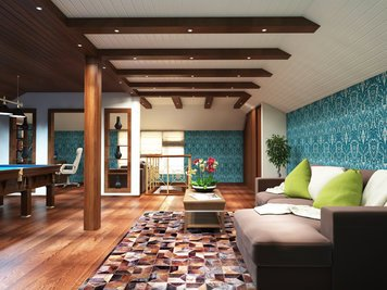 Online design Eclectic Living Room by Luba K. thumbnail