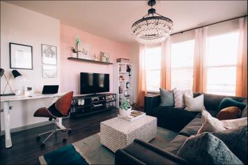 Online design Eclectic Living Room by Pamela W. thumbnail