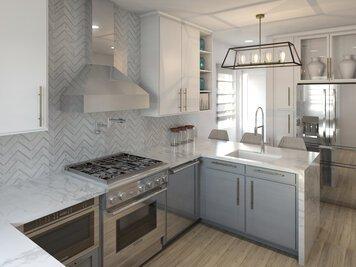 Online design Transitional Kitchen by Lynda N thumbnail