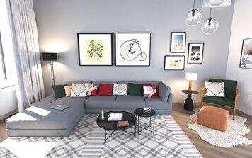 Online design Eclectic Living Room by Janja R. thumbnail