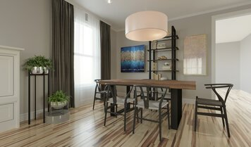 Online design Transitional Dining Room by Darya N. thumbnail
