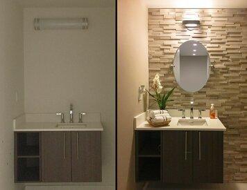 Online design Contemporary Bathroom by Cristina G. thumbnail