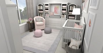 Online design Transitional Bedroom by Laura A. thumbnail