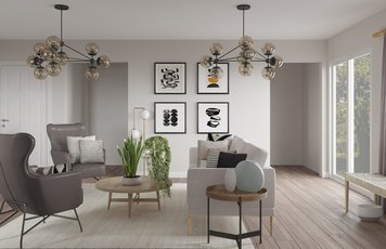 Online design Modern Living Room by Alicia S. thumbnail