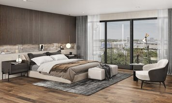 Online design Contemporary Bedroom by Arlen A. thumbnail