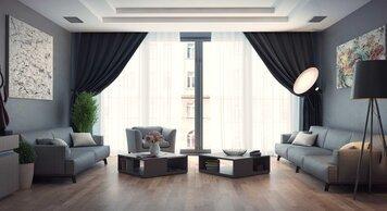 Online design Modern Living Room by Rajna S. thumbnail