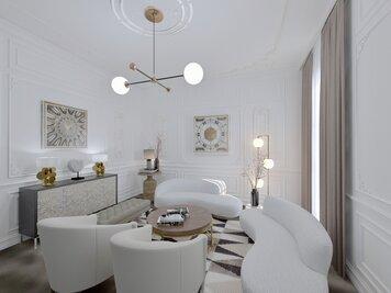 Online design Glamorous Living Room by Yana K. thumbnail