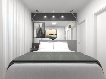 Online design Modern Bedroom by Luciana N. thumbnail
