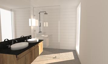Online design Contemporary Bathroom by Zena A. thumbnail