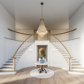 Online design Transitional Hallway/Entry by Laura A. thumbnail