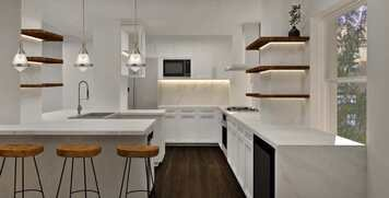 Online design Contemporary Kitchen by Charmaine M. thumbnail