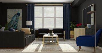 Online design Glamorous Living Room by Amanda B. thumbnail