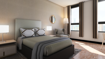 Online design Transitional Bedroom by Ana L. thumbnail