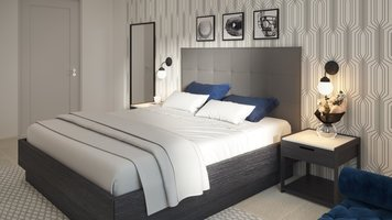 Online design Contemporary Bedroom by Tiara M. thumbnail