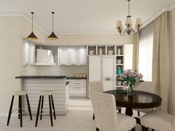 Online design Traditional Kitchen by Luba K. thumbnail