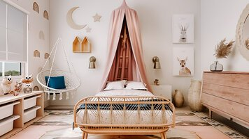 Online design Modern Bedroom by Martyna C. thumbnail