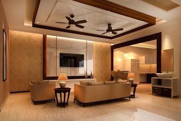 Online design Traditional Living Room by Kiran K. thumbnail