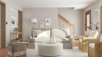 Online design Transitional Living Room by Katelin S. thumbnail