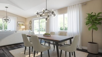 Online design Modern Dining Room by Angela S. thumbnail