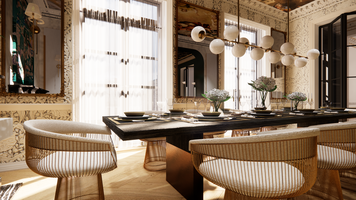 Online design Contemporary Dining Room by Matthew J. thumbnail
