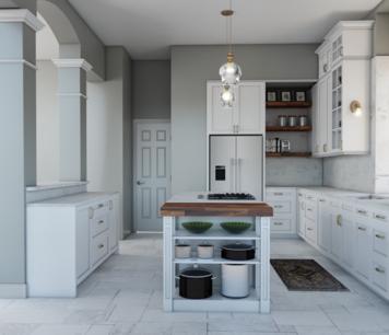 Online design Modern Kitchen by Betsy M. thumbnail