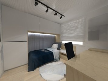 Online design Contemporary Bedroom by Sara P. thumbnail