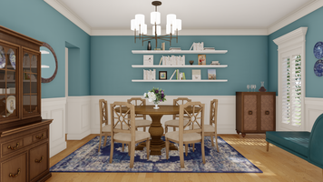 Online design Traditional Dining Room by Picharat A.  thumbnail