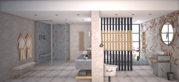 Online design Glamorous Bathroom by Aamirah P. thumbnail