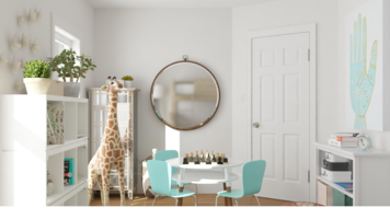 Online design Contemporary Kids Room by Ebere O. thumbnail