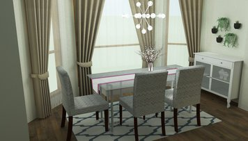 Online design Contemporary Dining Room by Merry M. thumbnail