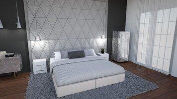Online design Glamorous Bedroom by Jas D. thumbnail