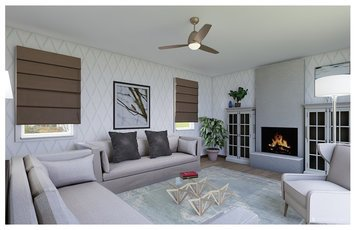 Online design Eclectic Living Room by Nancy S. thumbnail