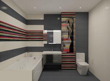 Online design Contemporary Bathroom by Luba K. thumbnail