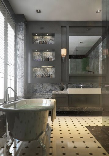 Online design Traditional Bathroom by Aida A. thumbnail