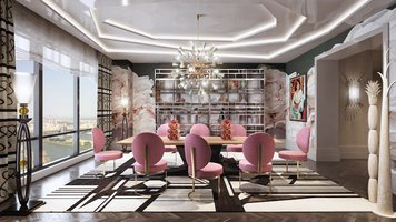 Online design Contemporary Dining Room by Andres S. thumbnail