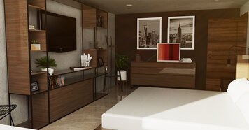 Online design Contemporary Bedroom by Jose S. thumbnail
