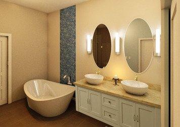Online design Beach Bathroom by Keerthana V. thumbnail