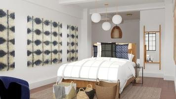 Online design Eclectic Bedroom by Nedith A. thumbnail