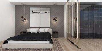 Online design Modern Bedroom by Vanessa A. thumbnail