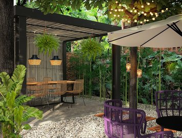 Online design Country/Cottage Patio by Vale G. thumbnail