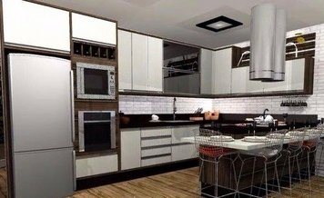 Online design Contemporary Kitchen by Yasmin C. thumbnail